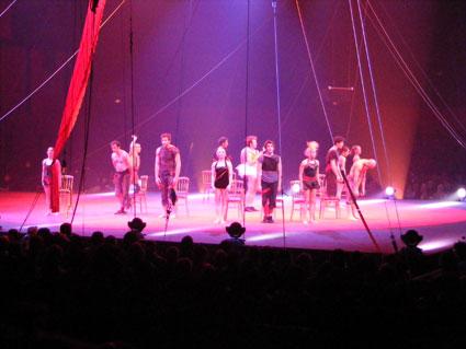 Présentation Ecole National de Cirque de Montréal