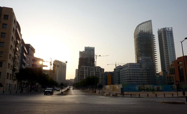 En route vers la Corniche de Beyrouth
