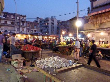 Liban - Le marché de Sabra