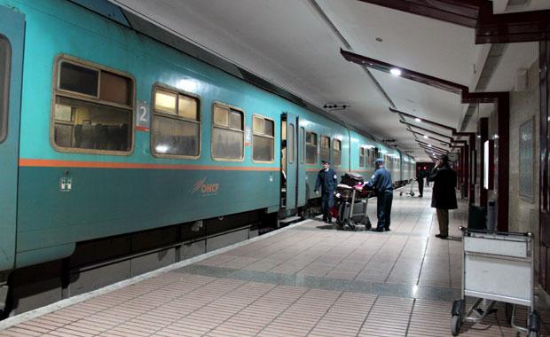 Maroc - Gare de l'aeroport de Casablanca
