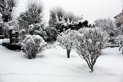 Neige à Viviers
