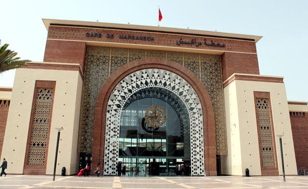 Maroc : La gare de Marrakech