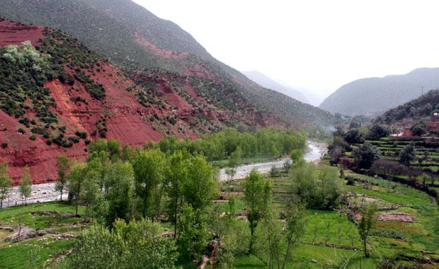 Maroc : La vallée de l'Ourika