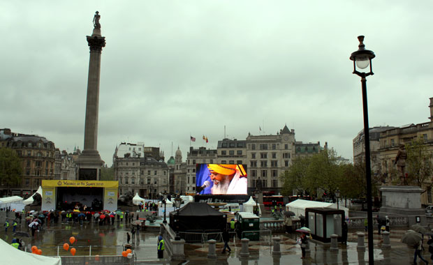 Londres : Trafalgar Square, Piccadilly Circus, Oxford Street