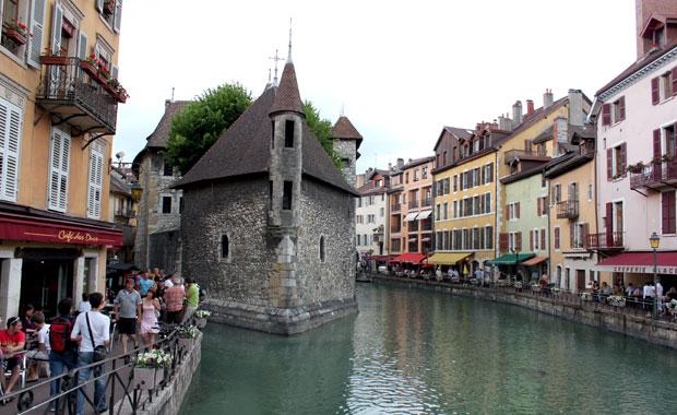 Petite escale à Annecy