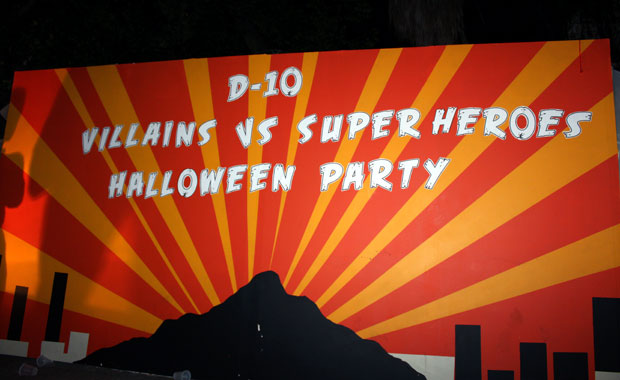 D-10 Halloween Party 2010
