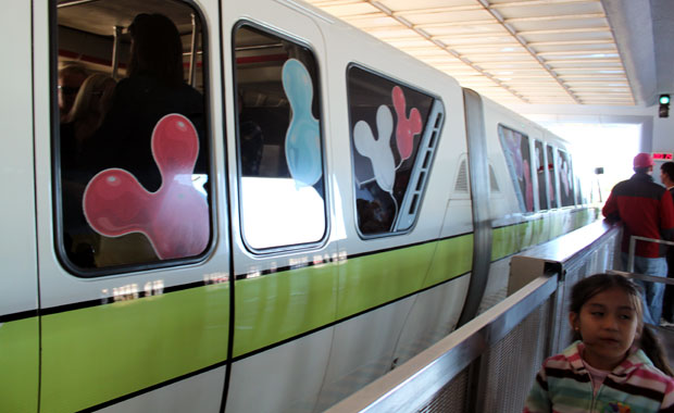 le monorail de Disney World Orlando