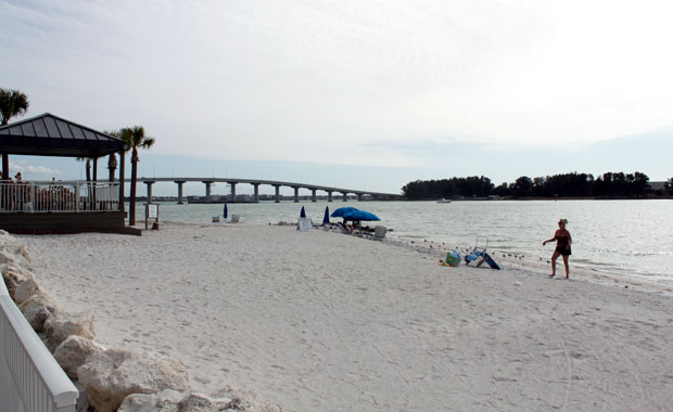 A la plage pour le jour de l'an