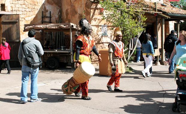 Disney Animal Kingdom - Section Afrique