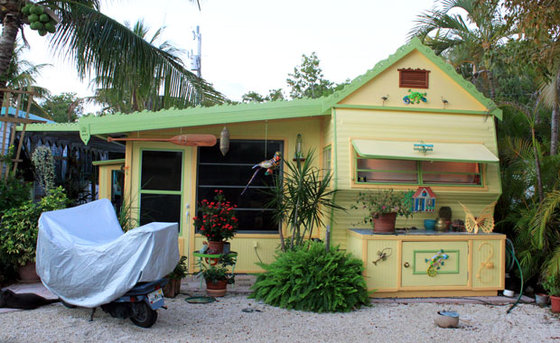 Camping a Key Largo