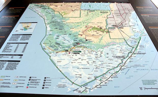 Everglades - Entree de Homestead