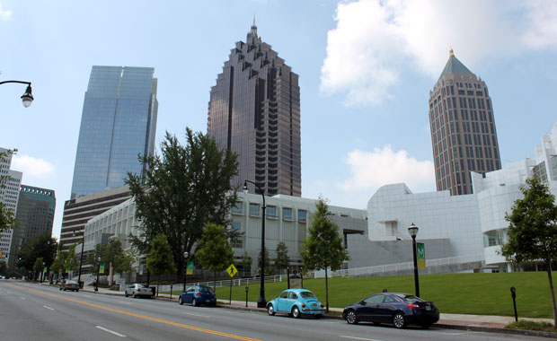 Week-end a Atlanta - Un tour dans Midtown