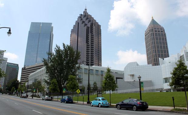 Week-end a Atlanta - Un tour dans Midtown