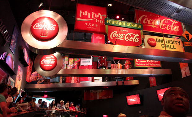 Week-end à Atlanta – Visite du musee Coca Cola