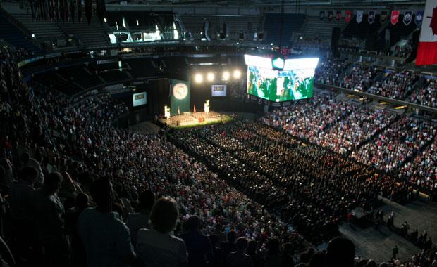 Cérémonie de remise des diplômes à l'USF
