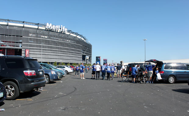 New York : Match de football des Giants