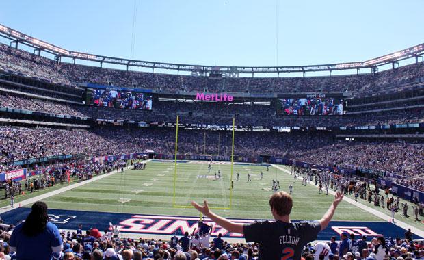 New York : Match de football des Giants