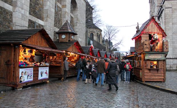 Séjour en France pour Noël. Paris pour une courte visite