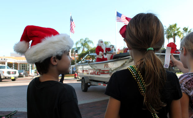 Parade de Noël a Safety Harbor