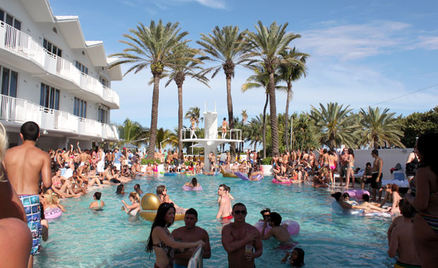 Pool Party au Shelborne Miami Beach