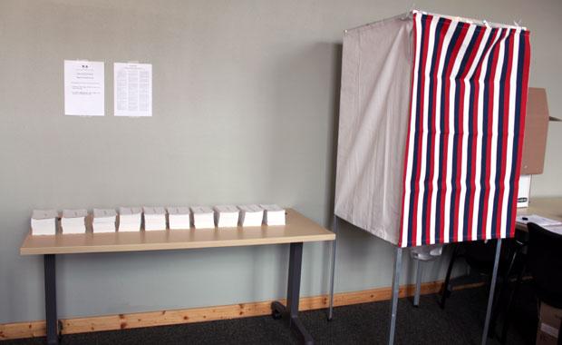 1er tour des élections présidentielles sur Tampa