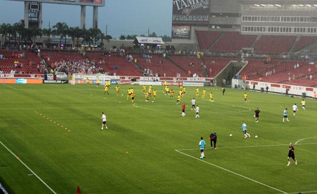 Soccer – Match Etats Unis vs Antigua