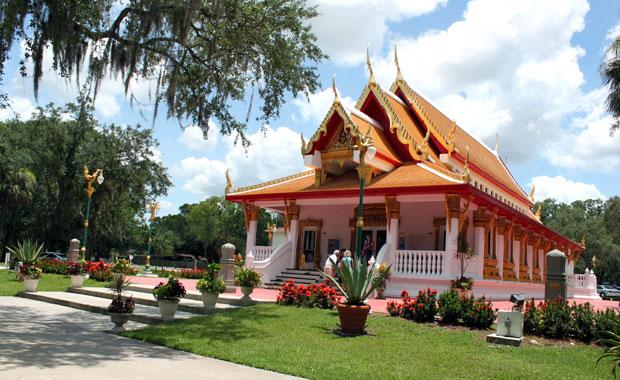 Un dimanche au Temple Bouddhiste Thaïlandais de Tampa