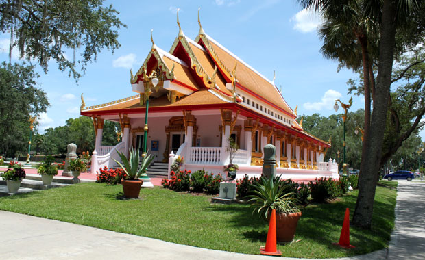 Un Dimanche Au Temple Budhiste Thailandais de Tampa